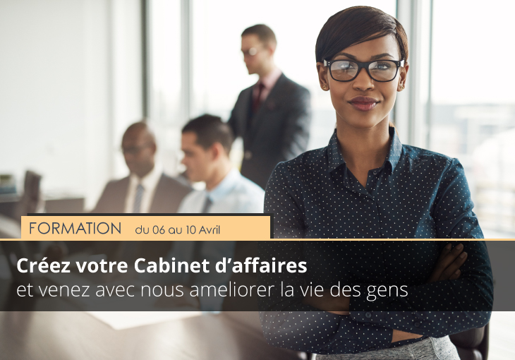 formation cabinet affaires