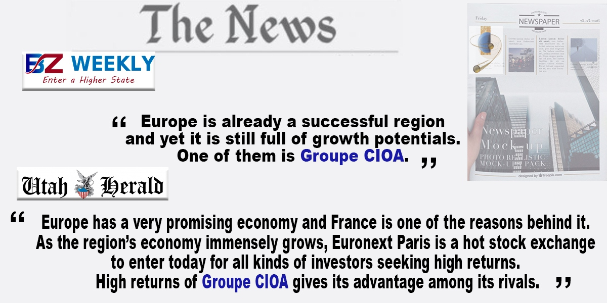 High returns of Groupe CIOA overseas !